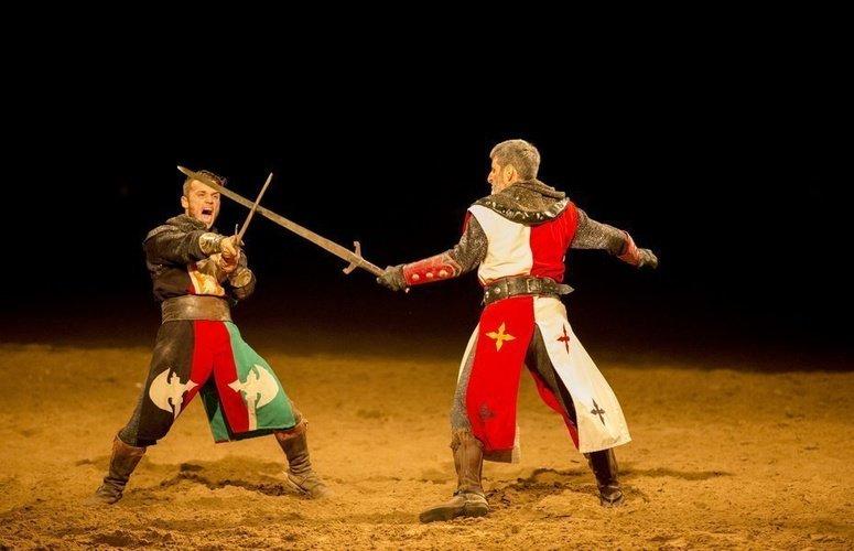 Cena-espectáculo 'desafío medieval' desafío medieval cena-espectáculo alfaz del pi